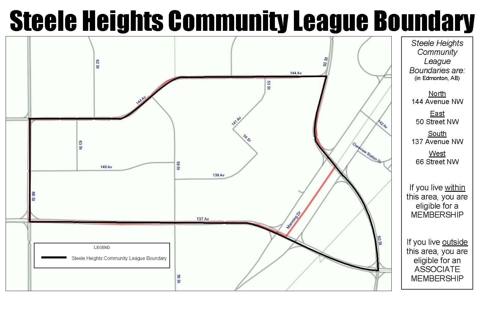 steele heights community league boundary